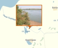Река Сырдарья в Казалинске