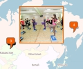 Где находятся фитнес-центры в Астане?