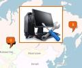 Где находятся компьютерные сервисы в Астане?