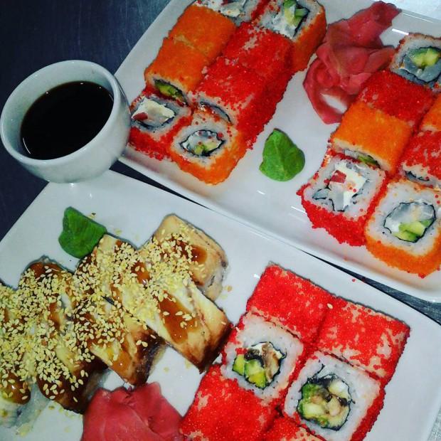 Где поесть суши в Астане? Доставка суши в Астане.