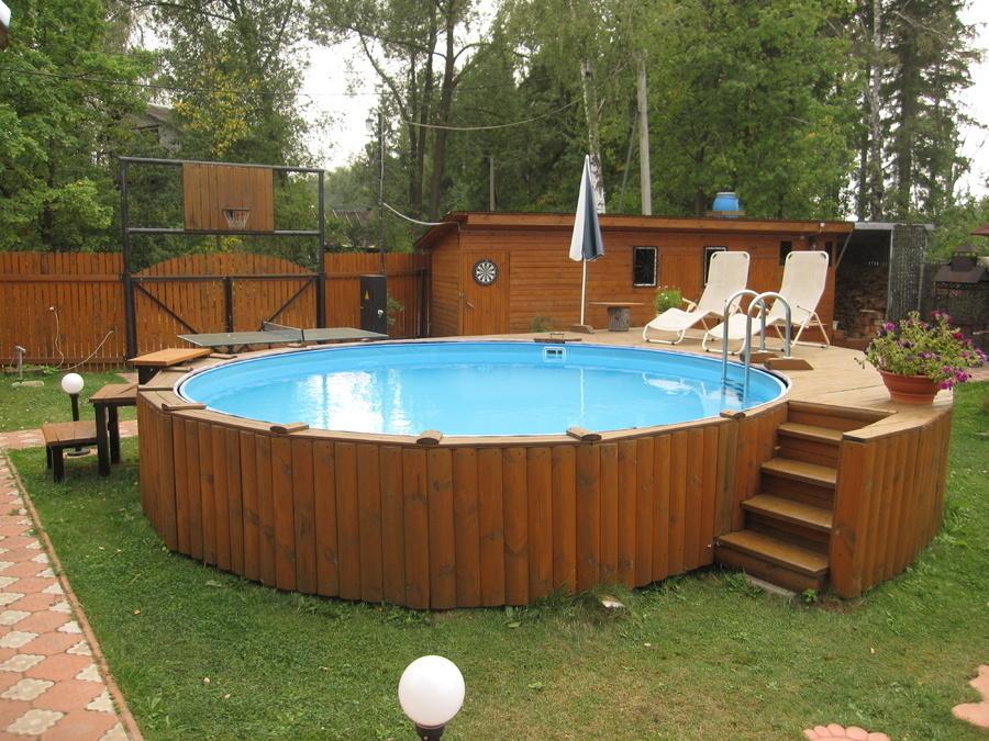Где приобрести дачный бассейн в Астане? Бассейны для дачи в Астане.
