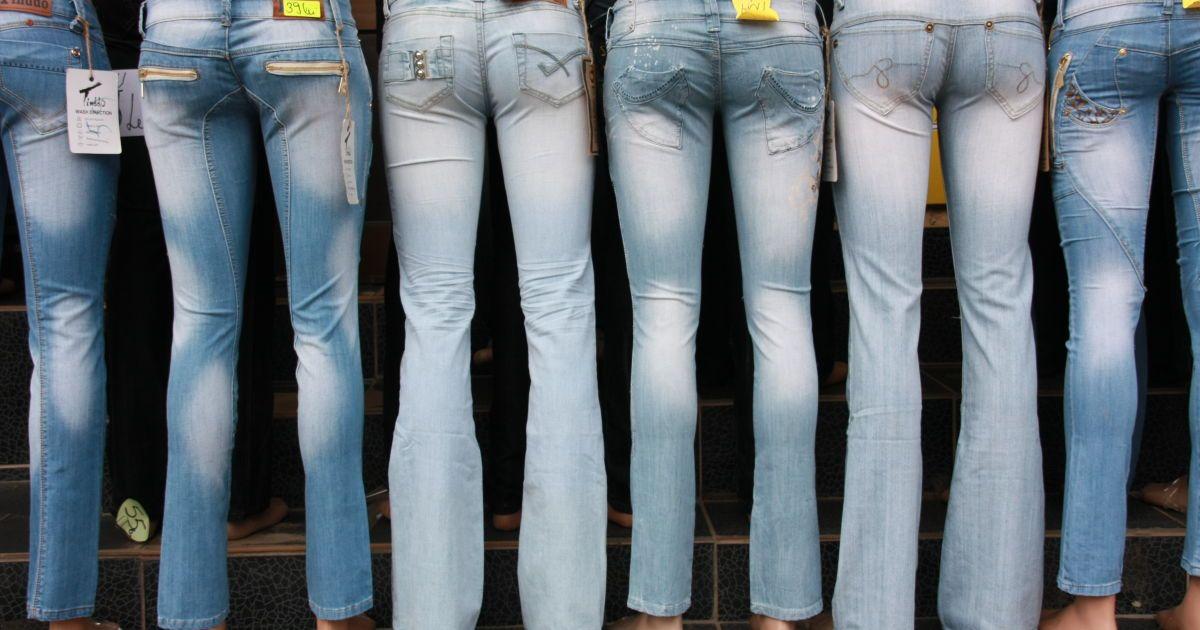 Обзор магазинов джинсов в Астане