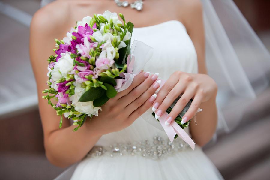 Купить свадебный букет для невесты в Астане