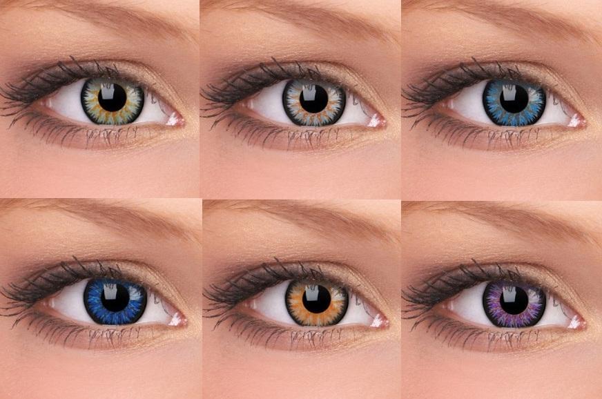 Где купить контактные  линзы в Астане?